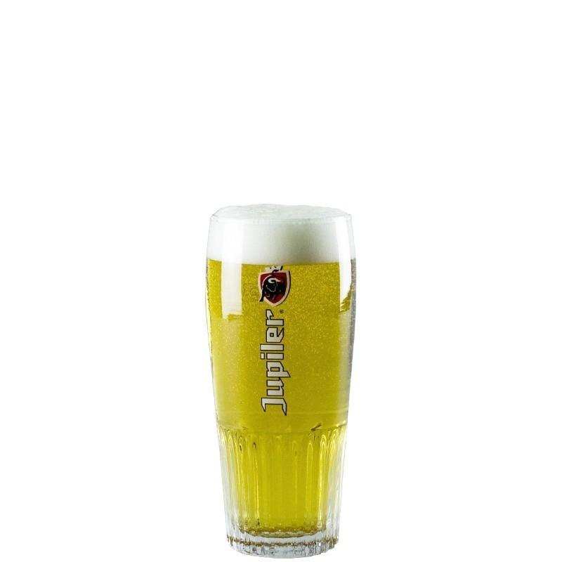 """Verre à bière belge Jupiler """"droit"""""""