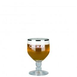 Verre à bière belge galoin Chimay 12 cl