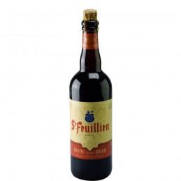 Bière Belge Saint Feuillien Brune 75 cl - Bière Belge