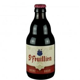 Bière Saint Feuillien brune 33 cl - Bière Belge