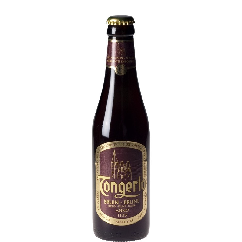 Bière Belge Tongerlo brune 33 cl - Bière Belge