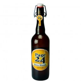 Bière Page 24 blonde 75 cl - Bière du Nord