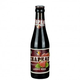 Bière Fraise Chapeau - Bière Belge