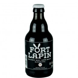 Bière Belge Fort Lapin Quadruple 33 cl