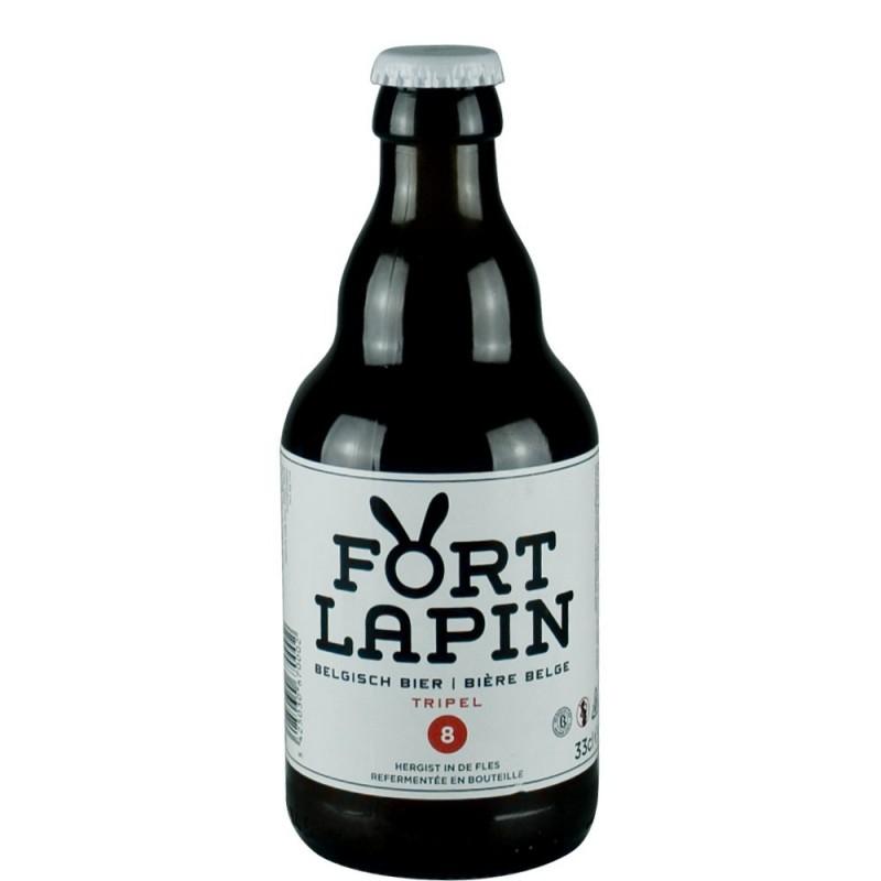 Bière Belge Fort Lapin triple 33 cl