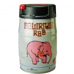 Mini-Fût Délirium Trémens Red 5 litres