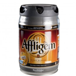 Mini-Fût Affligem 5 litres - Bière d'Abbaye