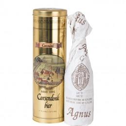 Boite Métal Corsendonk Agnus triple 75 cl - Bière Belge