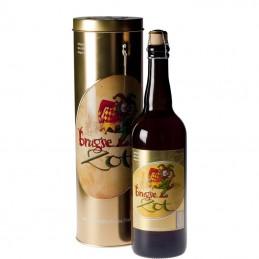 Boite Métal Brugse Zot Blonde 75 cl - Bière Belge