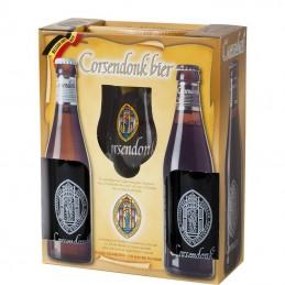Coffret Corsendonk 2 Bts + 1 verre - Bière Belge