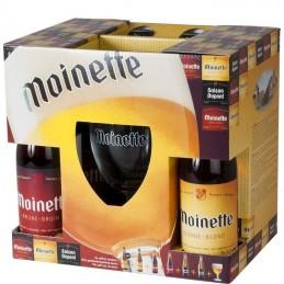 Coffret Moinette 6 Bts + 1 Verre - Bière Belge