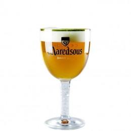 Verre Bière  Abbaye de Maredsous 33 cl