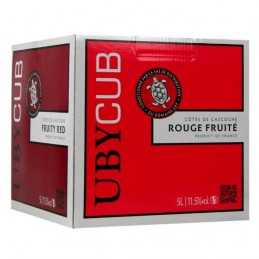 Bag Uby Rouge 5 Litres : Vin En Bag In Box