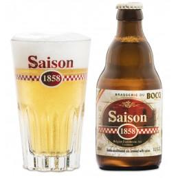 Saison 1858 33 cl 6.4° : Bière Belge