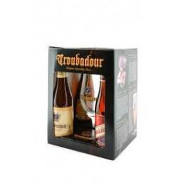 Coffret Troubadour 4Bt 33cl + 1 Verre : Coffret De Bière