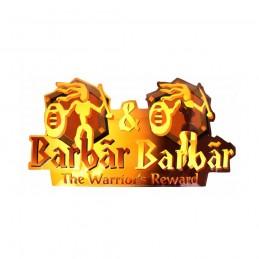 Plaque métal Barbar