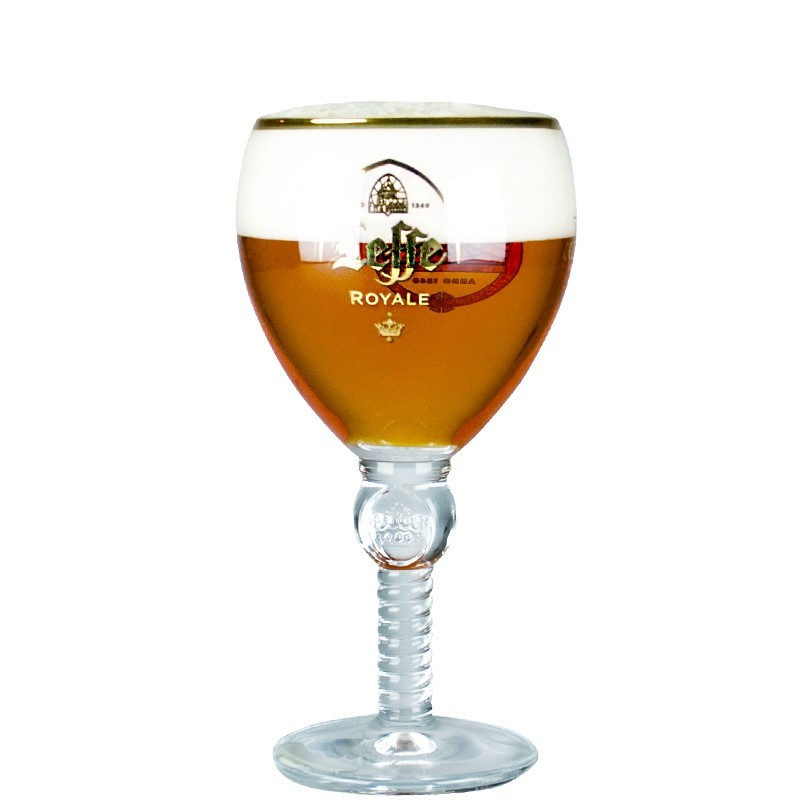 Verre à bière « Collector » LEFFE TULIPE  25 cl