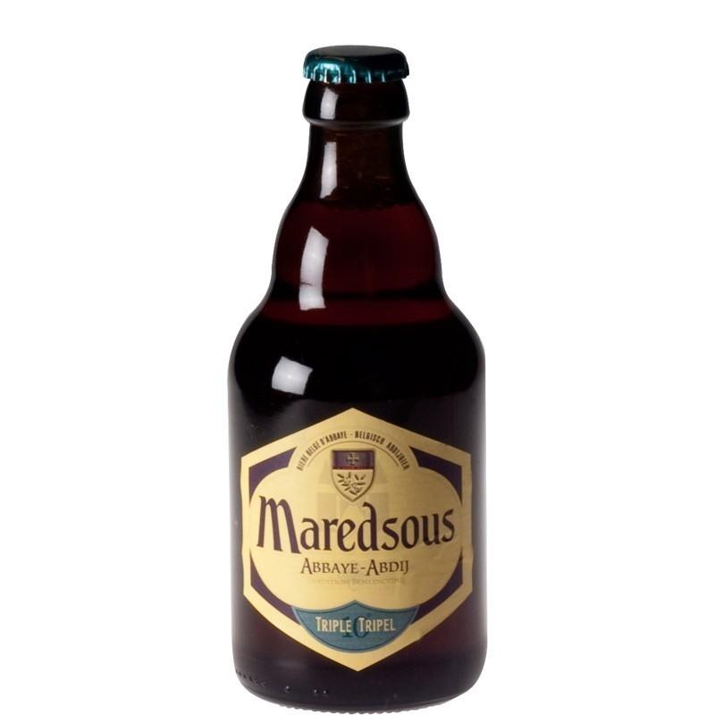 Bière Belge Abbaye de Maredsous ambrée 33 cl