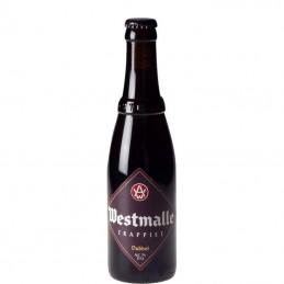 Bière Trappiste  Westmalle brune 33 cl - Bière Belge