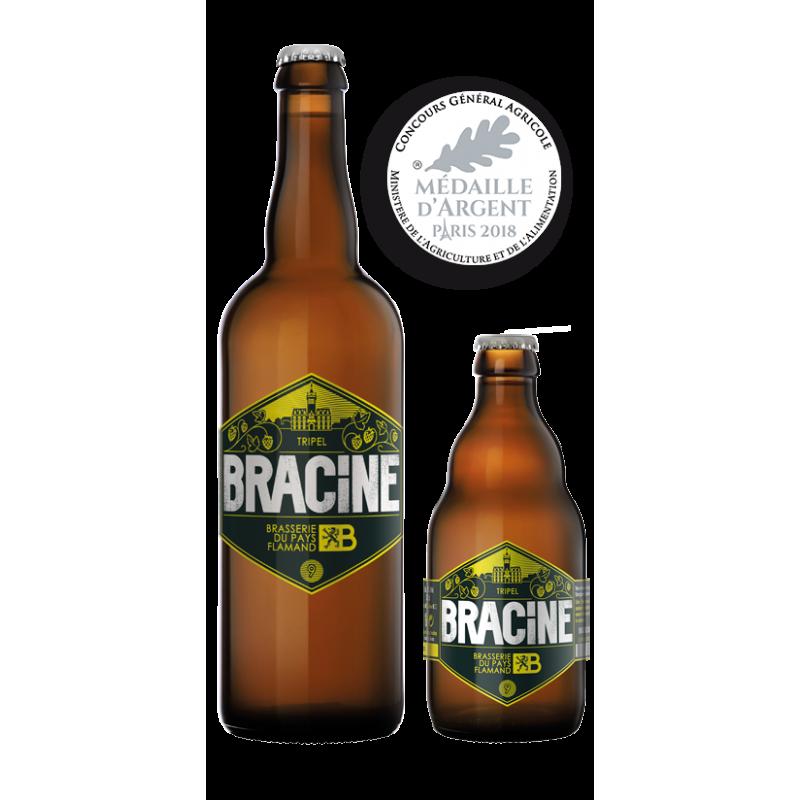 Bracine Triple 9° 75 cl : Bière Francaise