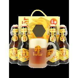 Coffret Barbar 4Bt 33cl + 1 Bock : Coffret De Bière