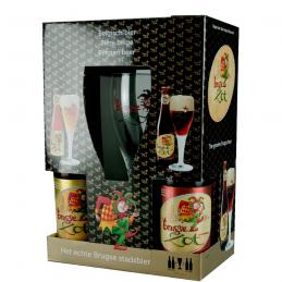 Coffret Brugse Zot 4X33 cl + 1 Verre - Bière Belge