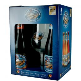 Coffret Queue de Charrue 4 X 33 cl + 1 Verre - Bière Belge