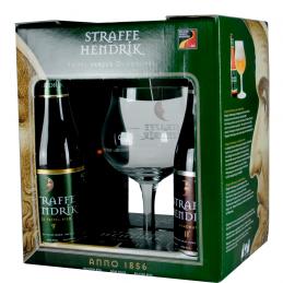 Coffret Straffe Hendrik 4X33 cl + 1 Verre - Bière Belge