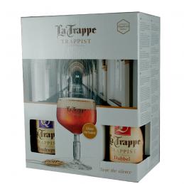 Coffret Trappe 4X33 cl + 1 Verre - Bière Trappiste Hollandaise