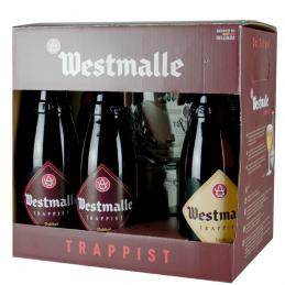 Coffret Westmalle 6X33 cl + 1 Verre