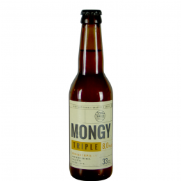 Mongy Triple 33 cl - Bière du Nord