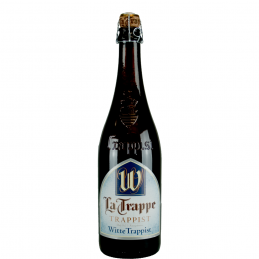 Trappe Witte 5.5° 75 cl : Bière Trappiste