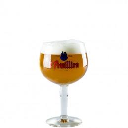 Caisse Saint Feuillien brune 7.5° 24X33 cl V.C - Bière Belge d'abbaye