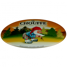 Plaque Métal Mac Chouffe Ovale