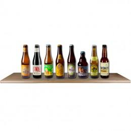 Assortiment de bières blonde