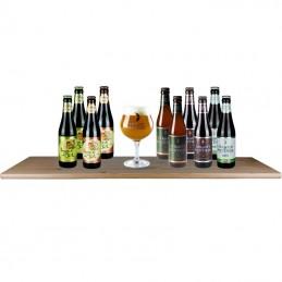 Assortiment de bières de saveur de la Brasserie de Halve Maan