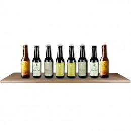 Assortiment de bières de la Brasserie Dochter Van Korenaar