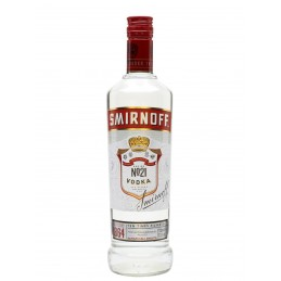 Vodka Smirnoff Red 37.5% 70 cl