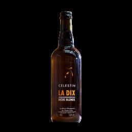 Bière La Dix 6.5° 75 cl - Bière Française