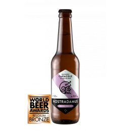 Nostradamus bio 9.1° 33 cl - Bière Belge