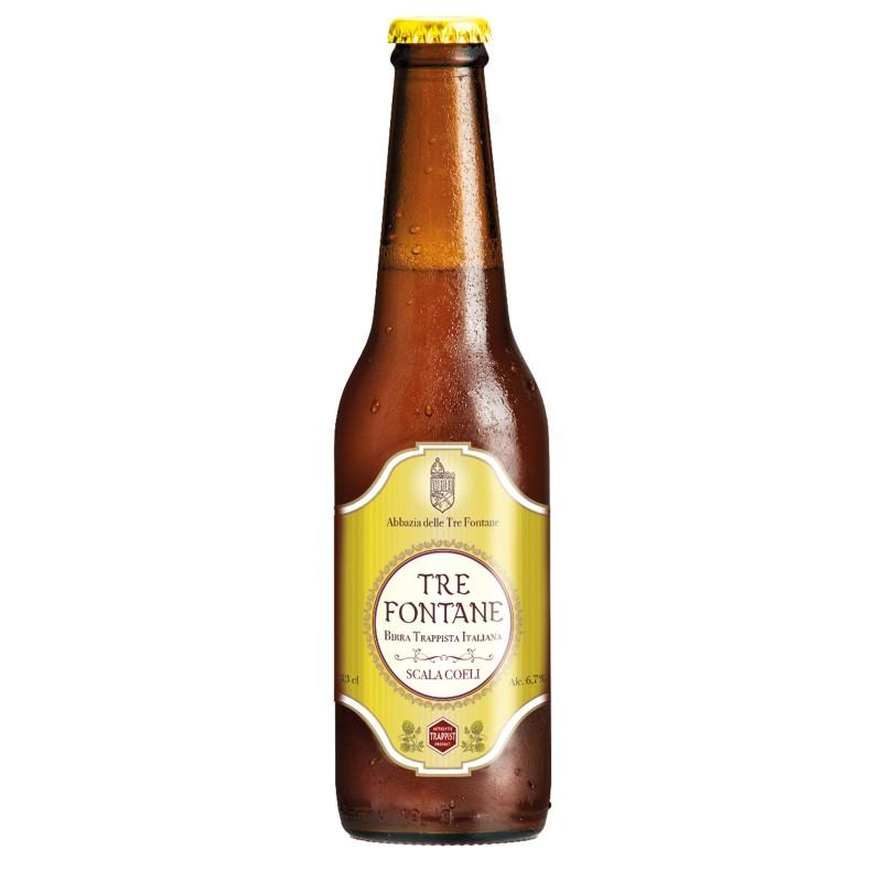 Tre Fontane Scala Coeli 6.5° 33 cl - Bière Trappiste Italienne