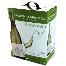 Bag in Box Colombard Baron Arignac 5 Litres