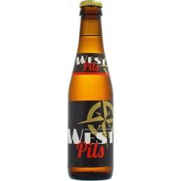 Caisse West Pils 5° 24X25 cl V.C - Bière Pils Belge