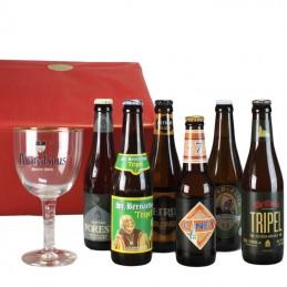 6 bières d'Abbaye  + 1...