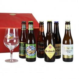 6 bières Forte  + 1 Verre -...